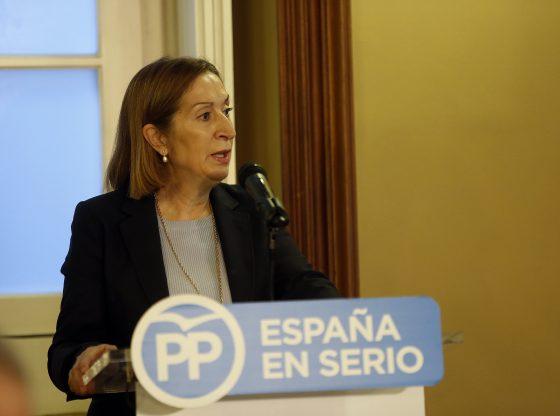 Ana Pastor se posiciona nuevamente como la cabeza del PP en Pontevedra