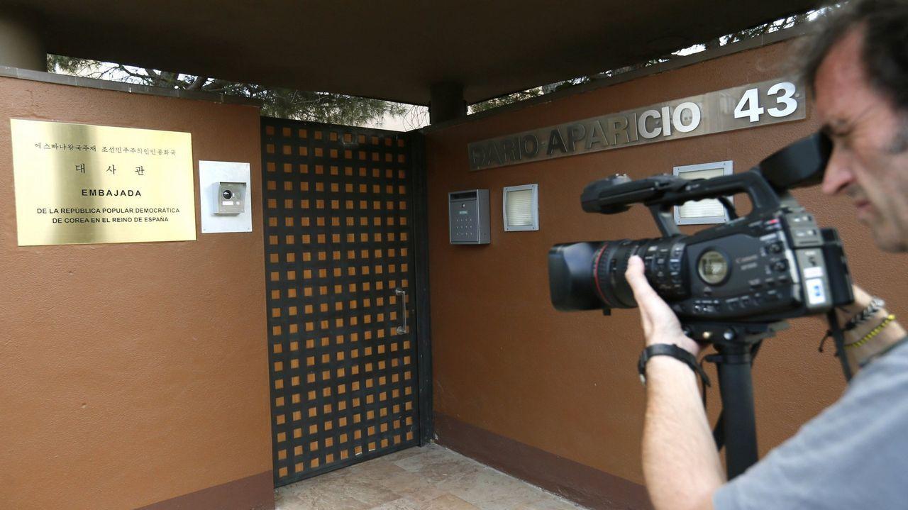 Robo en la Embajada de Corea del Norte en Madrid